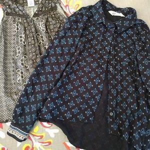 2- girls blouses